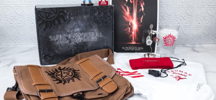 Supernatural Box Spring 2018 Giveaway!