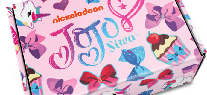 The Jojo Siwa Box Spring 2018 Giveaway!