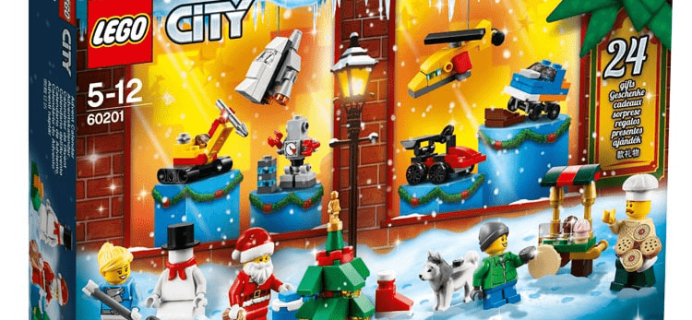 Lego 2018 Advent Calendar First Look!