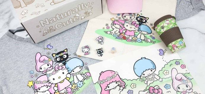 Sanrio Small Gift Crate Spring 2018 Subscription Box Review