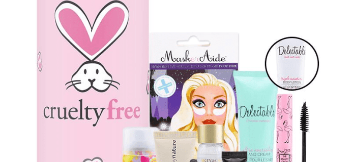 TopBox Limited Edition Cruelty Free Box 2018 Available Now!