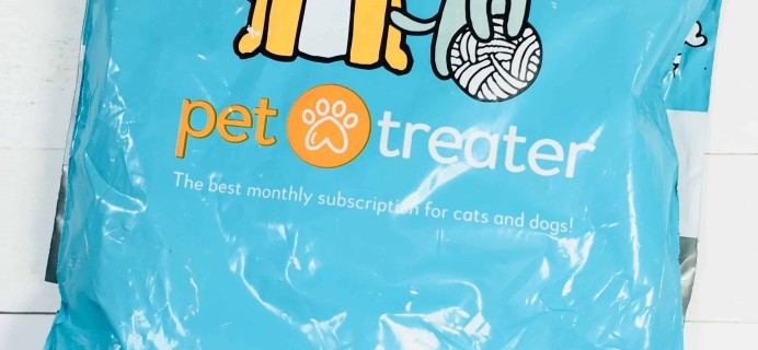 Pet Treater Cat Pack May 2018 Subscription Box Review + Coupon