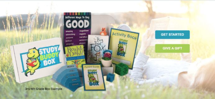 New Subscription Box:  StudyBuddy Box Available Now + Free Shipping For Life Coupons!