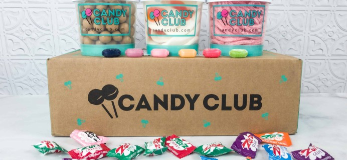 Candy Club Subscription Box Review + 50% off Coupon – May 2018