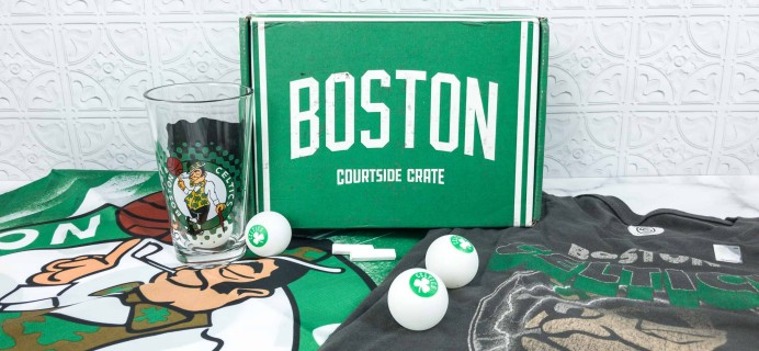 Courtside Crate by Sports Crate: NBA Edition April 2018 Subscription Box Review + Coupon