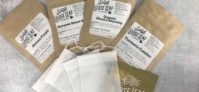 Simple Loose Leaf Tea Black Friday Deal: Save 25% for Black Friday!
