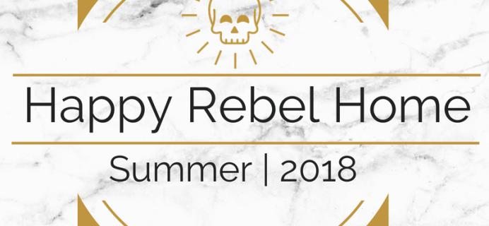 Happy Rebel Box Summer 2018 Full Spoilers!