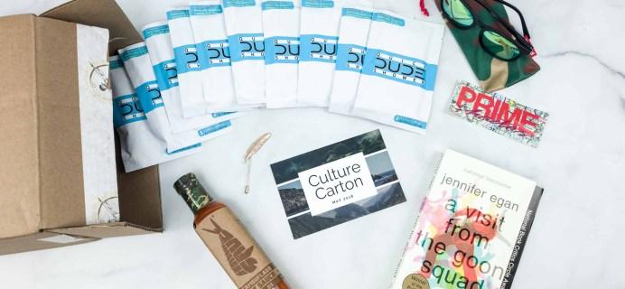 Culture Carton May 2018 Subscription Box Review + Coupon
