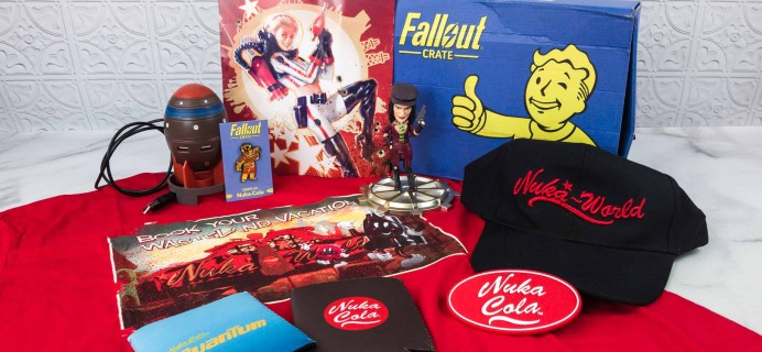 Loot Crate Fallout Crate April 2018 Review + Coupon
