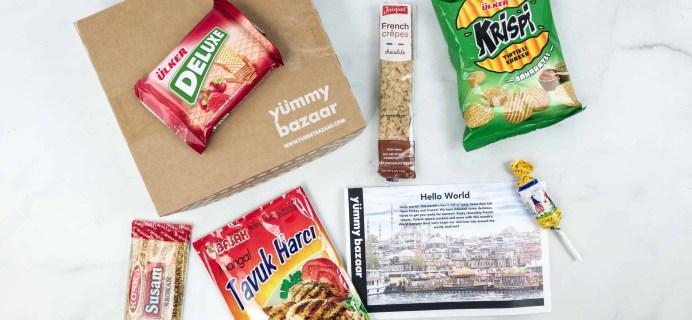 May 2018 Yummy Bazaar Subscription Box Review – Mini Box