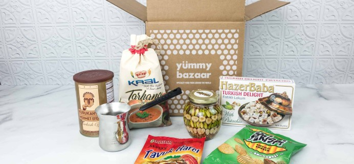 May 2018 Yummy Bazaar Full Experience Subscription Box Review