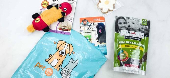 Pet Treater Dog Box Mini May 2018 Subscription Box Review + 50% Off Coupon!