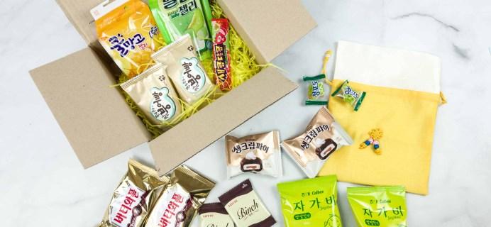 Korean Snack Box June 2018 Subscription Box Review + Coupon