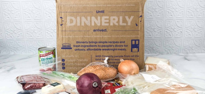 Dinnerly May 2018 Subscription Box Review + Coupon