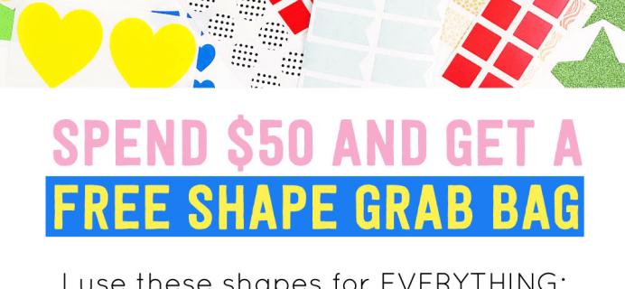 Pipsticks Promo: Get Free Shape Grab Bag For $50+ Orders!