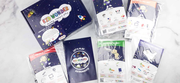 Kid Wonder Little Dreamers Box Subscription Box Review – OUTER SPACE JOURNEY