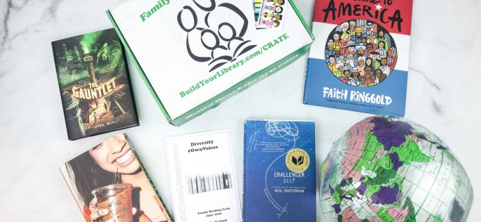 Family Reading Crate June 2018 Box Review