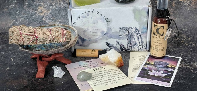 Magickal Earth Box Black Friday Coupon: Save 25% on your entire subscription!