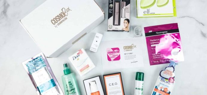CosmoBox May 2018 Subscription Box Review
