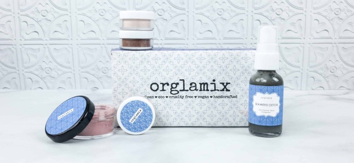 Orglamix May 2018 Subscription Box Review & Coupon