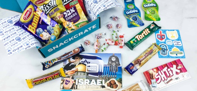 Snack Crate May 2018 Subscription Box Review & $10 Coupon