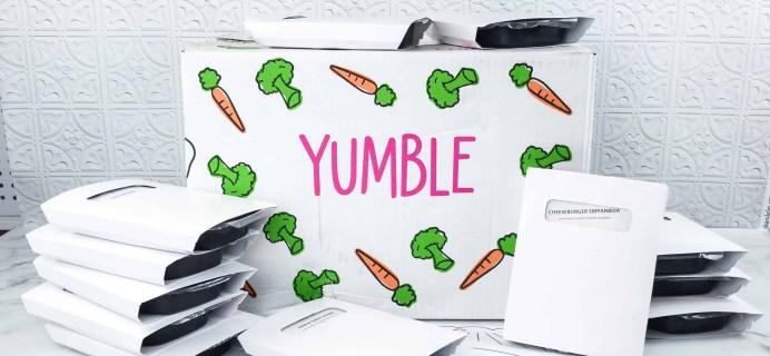 Yumble Kids May 2018 Subscription Box Review + Coupons!