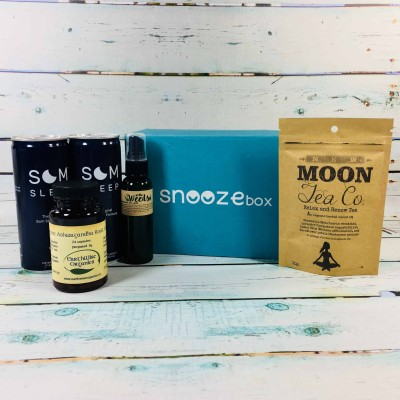 SnoozeBox May 2018 Subscription Box Review