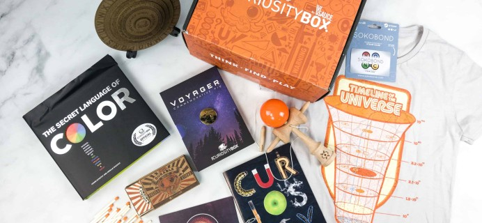 The Curiosity Box by VSauce Subscription Box Review – Spring 2018