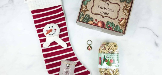 My Christmas Crate May 2018 Subscription Box Review + Coupon