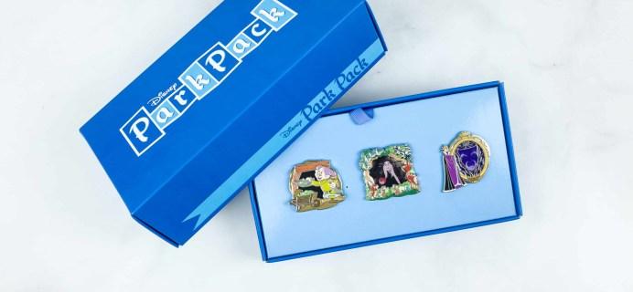Disney Park Pack Pin Edition 3.0 May 2018 Subscription Box Review