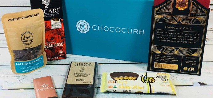 Chococurb Classic May 2018 Subscription Box Review