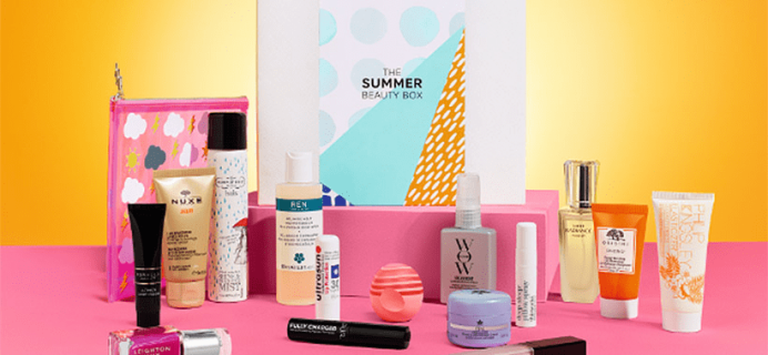 Marks and Spencer 2018 Summer Beauty Box Available Now + Full Spoilers! {UK}
