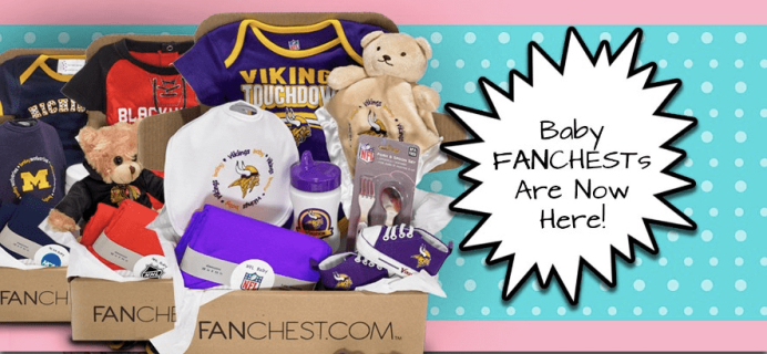 Fanchest New Dad Appreciation Day Coupon: Buy One Get 25% Off Baby Chests – TODAY ONLY!