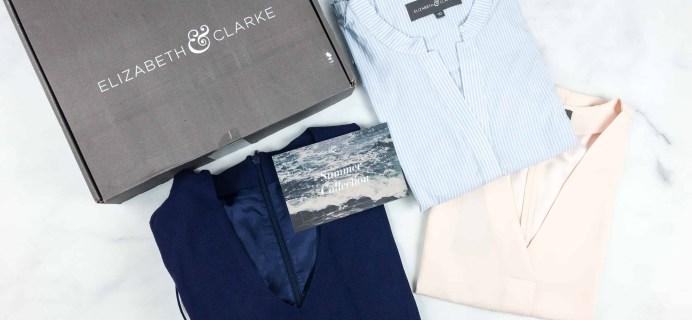 Elizabeth & Clarke Summer 2018 Subscription Box Review + Coupon