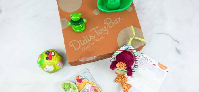 Didis Toy Box June 2018 Subscription Box Review & Coupon
