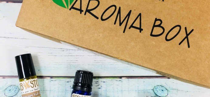 Herb Stop AromaBox Subscription Review & Coupon – June 2018