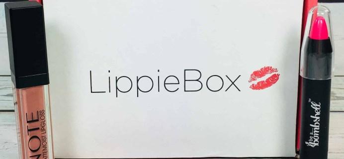 LippieBox Subscription Box Review – June 2018