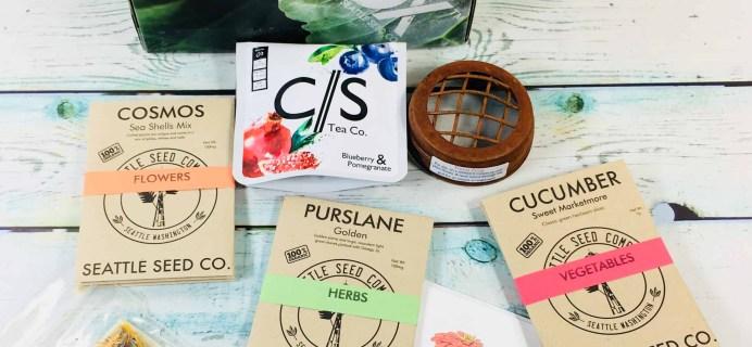 Plowbox Summer 2018 Gardening Subscription Box Review + Coupon