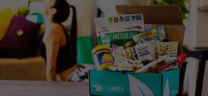 Fit Snack November 2018 Spoiler + Coupon!