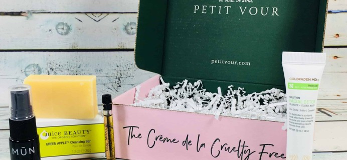 Petit Vour June 2018 Subscription Box Review