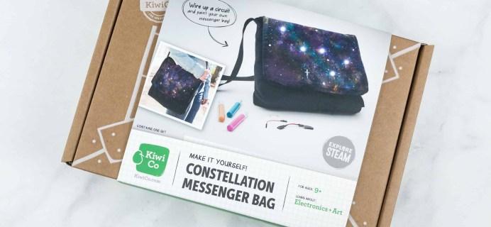 KiwiCo STEAM Review & Coupon – Constellation Messenger Bag