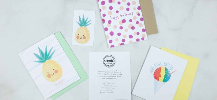 Pennie Post Stationery June 2018 Subscription Review + Coupon