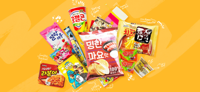 Snack Fever August 2019 Theme Spoiler + Coupon!