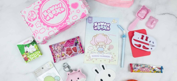 Kawaii Box June 2018 Subscription Box Review & Coupon