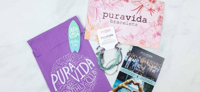 Pura Vida Monthly Club June 2018 Subscription Box Review