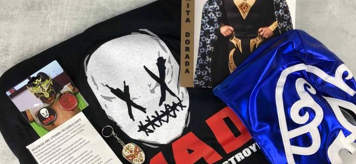 Lucha Loot Subscription Box Review & Coupon – May 2018