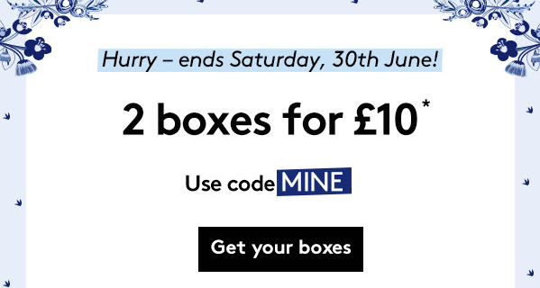 Birchbox UK June Sale : Get 2 Boxes For Only £10!