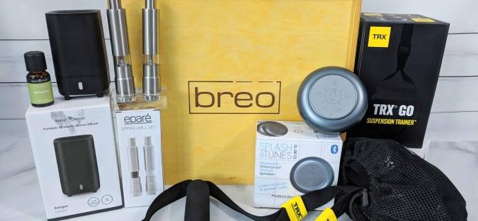 Breo Box Subscription Box Review + Coupon – Summer 2018
