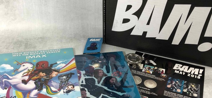 The BAM! Box May 2018 Subscription Box Review & Coupon