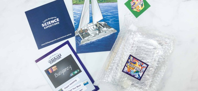 Little Passports Science Expeditions Subscription Box Review – BUOYANCY
